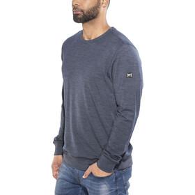 super.natural Waterton Crewneck Sweatshirt Men Navy Blazer Melange